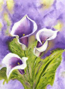 Calla lilies 3